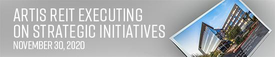 Artis REIT executing on strategic initiatives